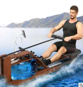 Rowing-Machine Card-House Wooden Intelligent Competitive Fitness Water-Resistance Sports