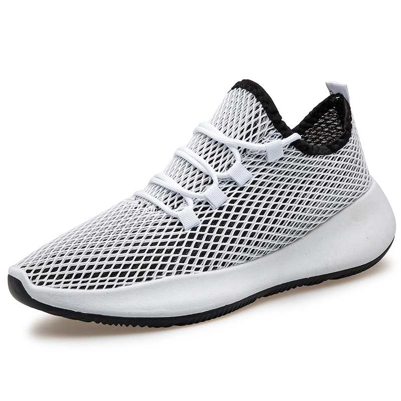 TOSJC Explosion couple casual shoes high quality 2020 summer hollow mesh light sports shoes breathable couple casual shoes