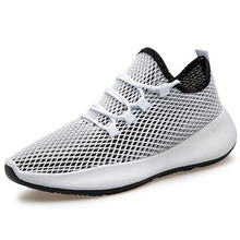 TOSJC Explosion couple casual shoes high quality 2020 summer hollow mesh light sports breathable