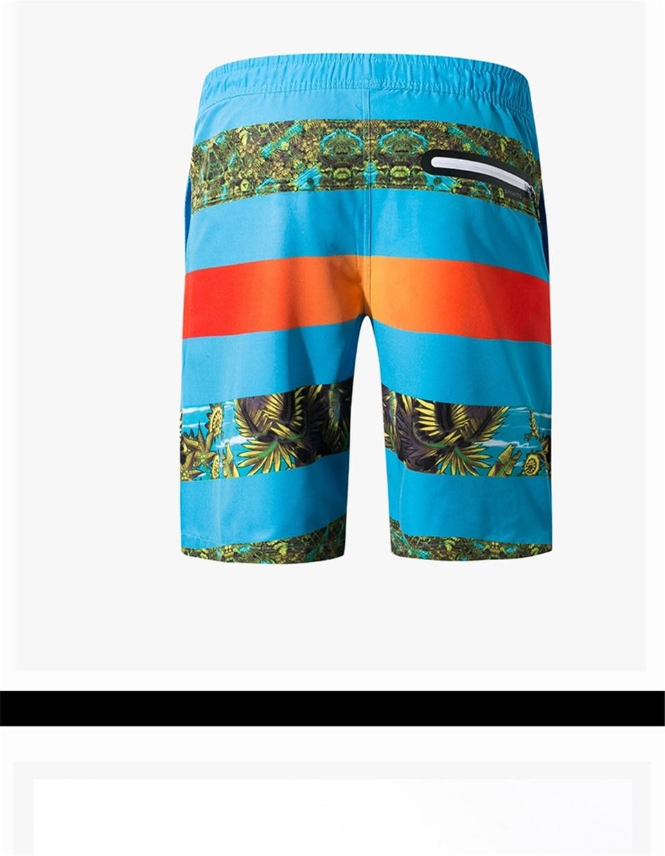joelho shorts listrado board surf curto sweatpants