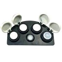 Austauschbare Öl Tasse Stehen für Uhr Reparatur Uhrmacher Öl Fett Tasse Halter Container Werkzeuge-in Reparatur-Werkzeuge & Kits aus Uhren bei