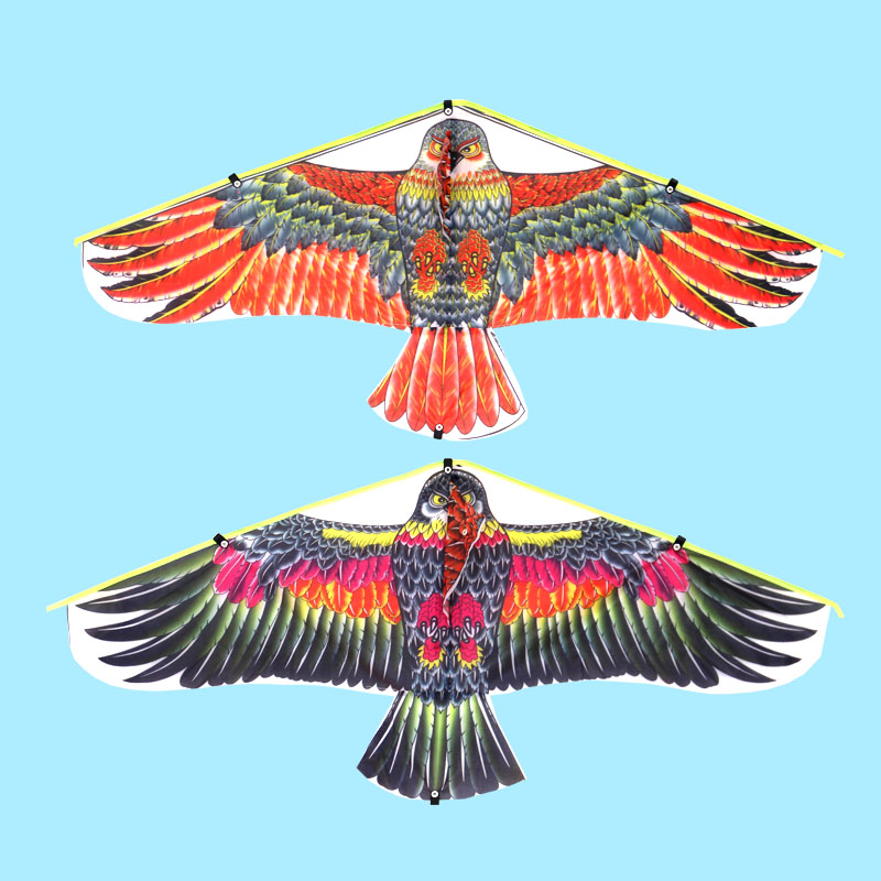 1M Parrot Kite Family Outings Outdoor Fun Sports Kids Kites Flying Toys For Children Kids Random