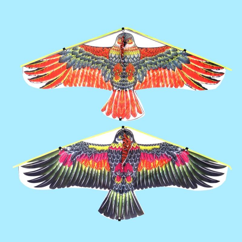 1M Parrot Kite Family Outings Outdoor Fun Sports Kids Kites Flying Toys For Children Kids Random