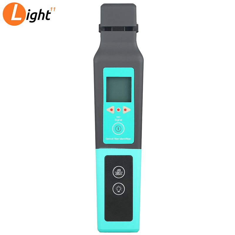 KFI-40 Live Fiber Optical Identifier Komshine KFI-40 With LED Display Identifying Direction Break Checker FTTH Testing Tool