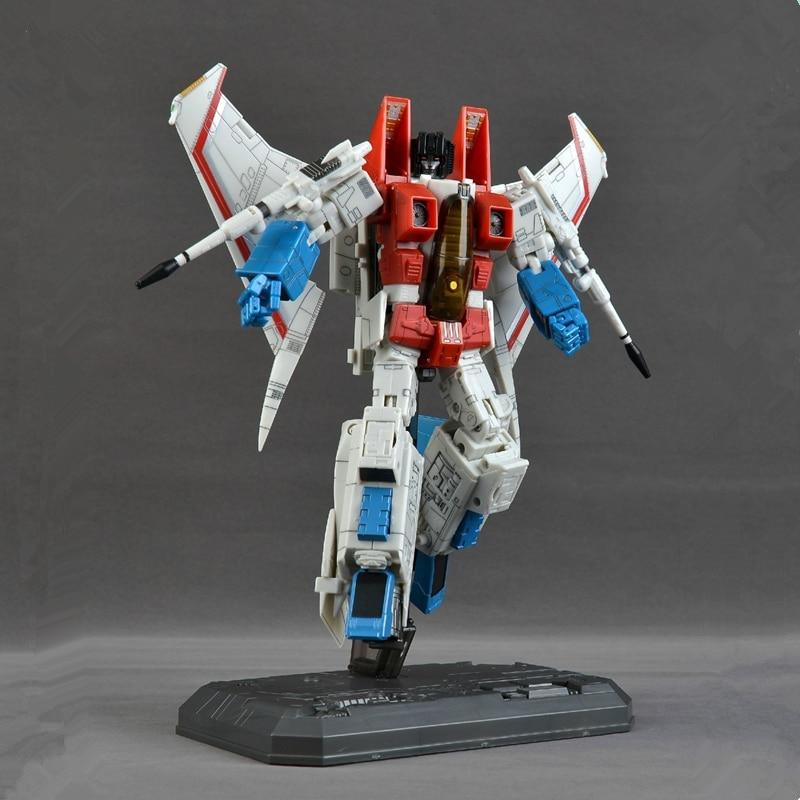 NEUE AUF LAGER Transformation Übergroßen MP11 YM03 YM-03P F11 Skywarp Aircraft Jet KO Starscream Action Figur Roboter Spielzeug