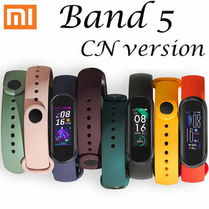 Original Xiaomi Mi Band 5 Smart bracelet AMOLED Dynamic Color Display Wristband Adult Health Sport Waterproof Smart Band