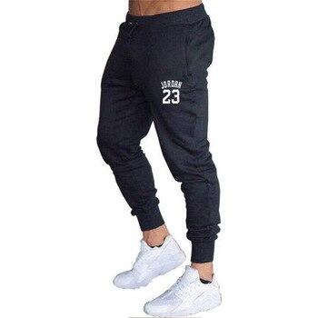 2020 New Men Joggers for Jordan 23 Casual Men Sweatpants Gray Joggers Homme Trousers Sporting Clothing Bodybuilding Pants K - L, 8