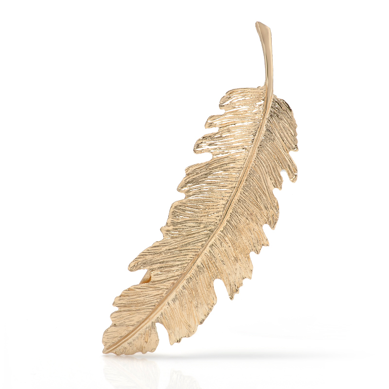 Vintage-Simple-Gold-Silver-Leaves-Feather-Hair-Clip-Hairpin-Barrette-Spring-Clip-Hair-Jewelry-Women-Tiara