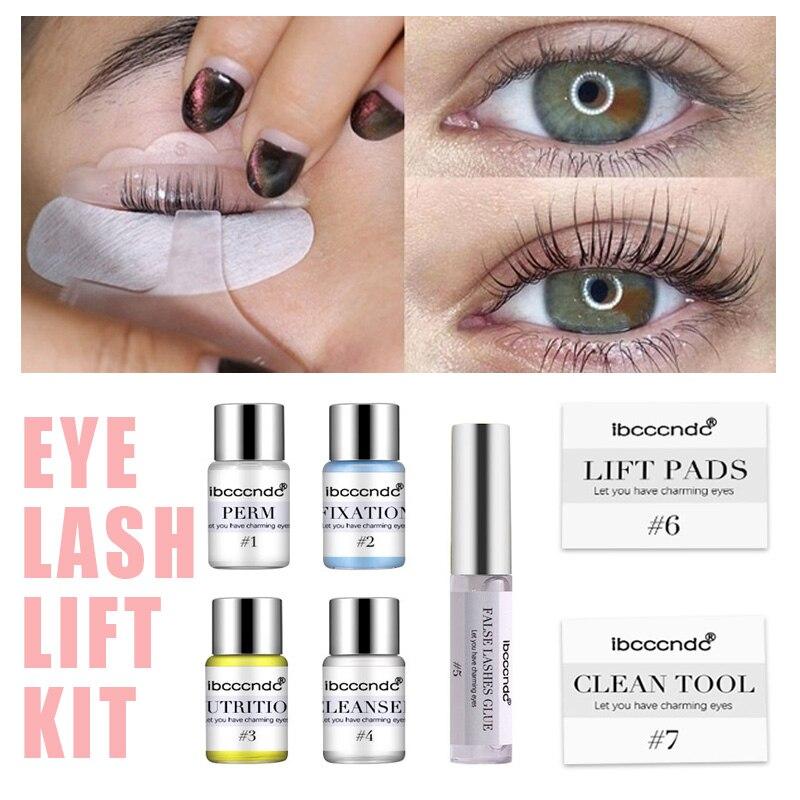 Profissional lash lift kit cílios perming kit para cílios perm com hastes cola dropshipping salão de beleza uso doméstico lash levantamento ferramentas