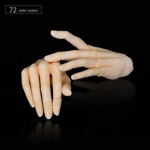 Image 4 - BJD Соединенные руки подходит для 1/3 или 1/4 bjd куклы для мальчиков и девочек тело IOS IP ID72 R72 Sd17 DS SD Feeple