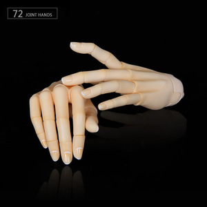 Image 4 - BJD Jointed Hands suitable for 1/3 or 1/4 bjd dolls boy and girl body IOS IP ID72 R72 Sd17 DS SD Feeple