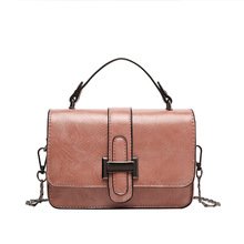 Fashion Small Crossbody Bags for Women Mini PU Leather Shoulder Bag Messenger Tote Bag for Girl Ladies Phone Purse Simple Design graceful pu leather and metal design tote bag for women