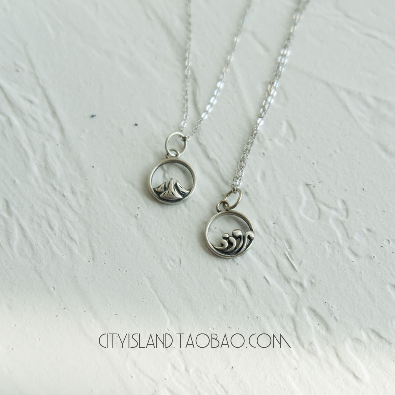 couples necklaces Contracted necklace necklace to restore ancient ways vows of eternal love couples life tree pendant necklace