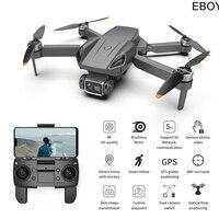 EBOYU G21 GPS Drone Brushless 5G WiFi FPV 4K HD Camera GPS ritorno Dual Camers flusso ottico pieghevole RC Drone Quadcopter giocattolo RTF