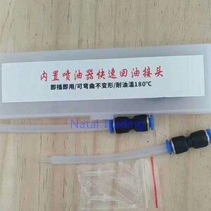 Image 5 - Colector rápido de retorno de aceite de 2 uds de riel común para inyectores diésel, Conector de tubería de aceite, resistencia a altas temperaturas