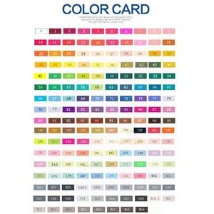 Image 5 - TOUCHNEW juego de marcadores artísticos de doble punta, 30/40/60/80 colores, marcadores a base de Alcohol para dibujo artesanal, suministros de rotuladores de diseño