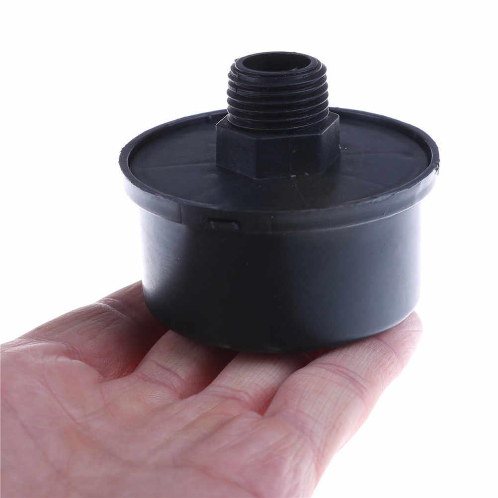 1 adet 16mm erkek dişli filtre susturucu susturucu hava kompresörü emme