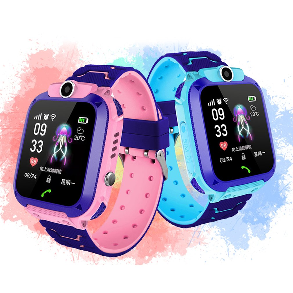 2020 New Q12 Smart Watch Multifunction Children Digital Wristwatch Baby Watch Phone For IOS Android Kids Toy Gift