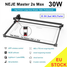 NEJE Master 2S Max 30W Professionnel CNC Laser Gravure Machine De Découpe Lightburn,laserGRBL, Benbox Contrôle D'appli De Bluetooth