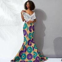 Shenbolen african dresses for women long dresses Couples clothe Africa ankara print lace dresses women dress maxi dresses