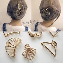 Модные милые шпильки для волос женщин и девушек с металлической