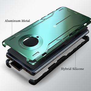Image 5 - Volle Schutz Stoßfest Aluminium Metall & Hybrid Silikon Fall Für VIVO NEX 3/ 5G Luxus Harte Rückseitige Abdeckung fall Für VIVO NEX3 5G