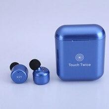 Беспроводная гарнитура X3T с Bluetooth 4,2, наушники с зарядным устройством, бас X1t X2T, Модернизированная для iPhone, для Samsung, Android