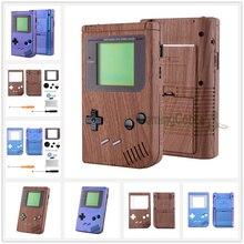 רך מגע מלא מעטפת עבור Gameboy קלאסי 1989 GB DMG 01 קונסולת w/מסך עדשה & כפתורים ערכת כף יד קונסולה לא כלול