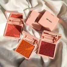 8 couleurs de fard à joues nacré, Rouge naturel, pour débutants, maquillage de visage scintillant, outil cosmétique, TSLM1