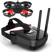 Mini drone WBLS008 crossover machine WiFi fpv with glasses image transmission and receiving one