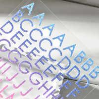 DiyArts Alphabet Letters Scrapbooking Creative Stickers A-Z Living Room Bedroom Home Decor Handmade for Children