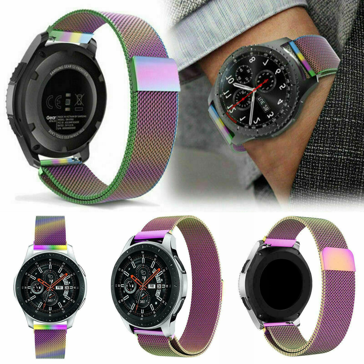 2019 New Fashion Magnetic Watch Band Replacement Strap For Samsung Galaxy Watch 42mm/46mm