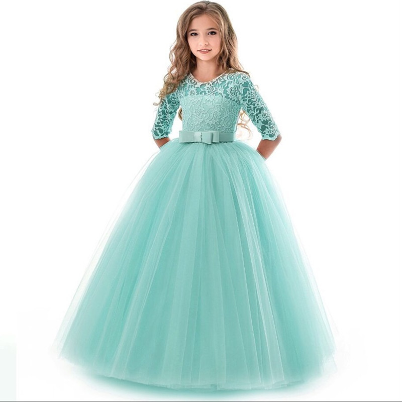 Teenage Girls  Wedding Ceremony Dress 3