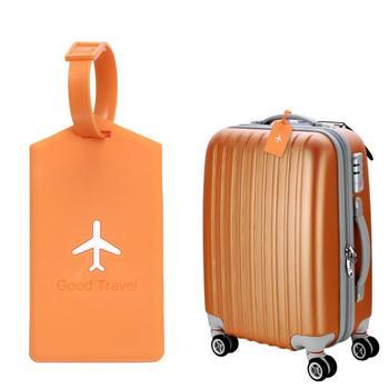 Pcv samolot bagaż Tag identyfikacja przed kradzieżą walizka podróżna Tag tanie i dobre opinie Szkolenia PVC Aircraft Luggage Tag Rozrywki
