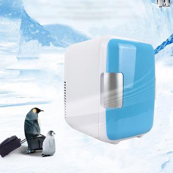 Mała elektryczna lodówka ogrzewanie i chłodzenie podwójnego zastosowania lodówka samochodowa wielofunkcyjny przenośny domowy lodówka tanie i dobre opinie BYGD CN (pochodzenie) 1 8kg 21cm small car refrigerator 25 5cm 18cm Lodówki