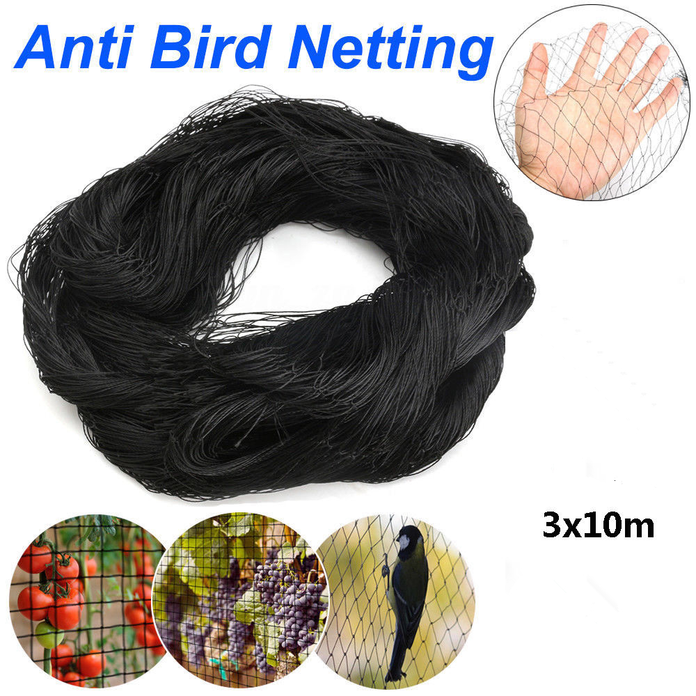 Anti Bird Net Netting Mesh For Orchard Crop Vineyard Fruit Crop Plant Tree Bird-Preventing Netting 3x10M