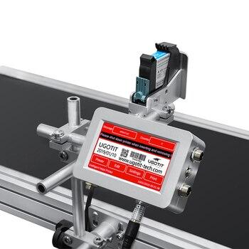 TIJ Portable Online QR Code Expiry Date Inkjet Printer for pet bottle plastic bag