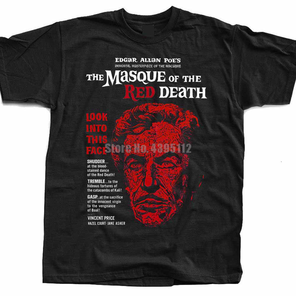 The Masque Of The <font><b>Red</b></font> Death Movie Poster Men Gym <font><b>Shirts</b></font> Oversize T-<font><b>Shirts</b></font> Personalized <font><b>Shirt</b></font> Poland <font><b>Shirts</b></font> <font><b>Bull</b></font> Terrier Abayfm image
