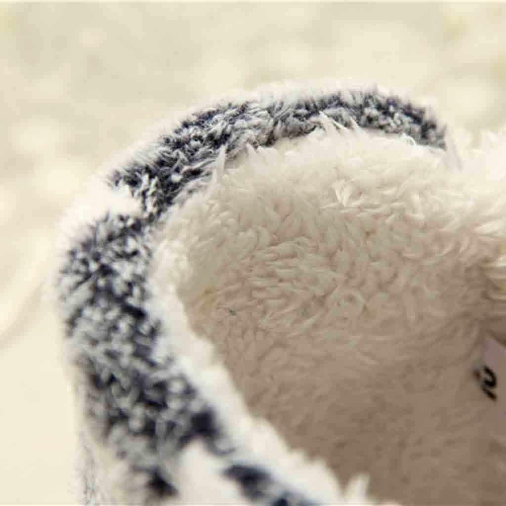 Yumuşak sıcak kış kar botları kadın ayakkabı yeni varış ev dilsiz sevimli yumuşak peluş topu kadın iç çizmeler artı kadife sıcak botlar