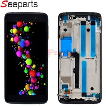 """For BlackBerry Dtek50 LCD Display Touch Screen Digitizer Assembly With Frame Replacement 5.2"""" For Blackberry Dtek 50 LCD Display"""
