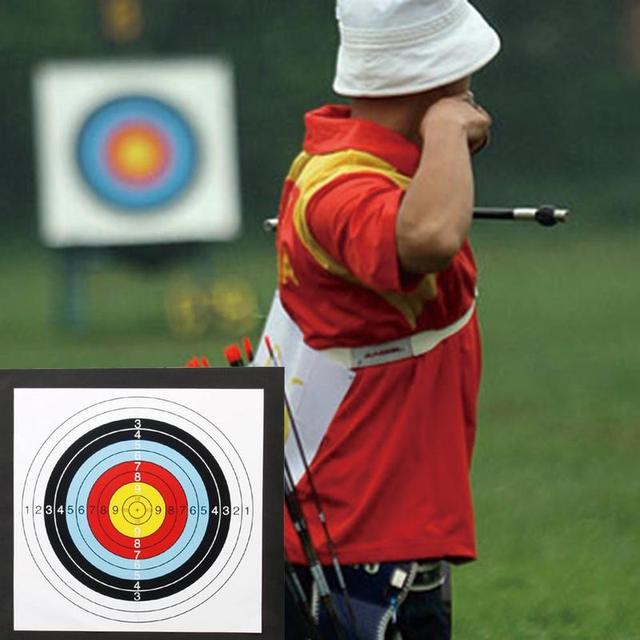 1Pcs 50*50*5cm Archery Target High Density EVA Foam Shooting Practice Board Indoor and Outdoor Sports Hunting Accessories 3