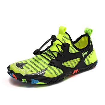 Męskie buty sportowe wody pięć z otwartymi palcami sporty pływackie buty sandały boso plaża buty górskie oddychający i szybkoschnący foo tanie i dobre opinie NoEnName_Null CN (pochodzenie) Dobrze pasuje do rozmiaru wybierz swój normalny rozmiar Spring2019 elastyczna opaska Szybkie suszenie