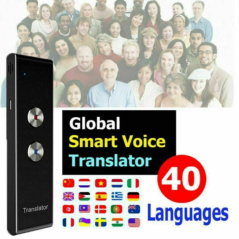 Translaty MUAMA Enence Smart Instant Real Time Voice 40 Languages Translator Traductor De Idiomas En Tiempo Real