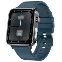 Ppg Ecg Smart Horloge 2021 Mannen Vrouwen Digitale Sport Horloge Armband Druk Zuurstof Body Temperatuur E86 Smartwatch Android Ios
