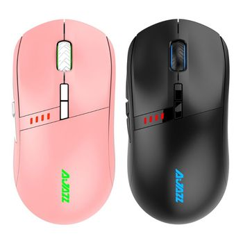 AJazz Professional-Grade i305Pro RGB 2.4G Gaming Mouses Wireless Wired Dual Mode Rechargeable 200-16000 DPI