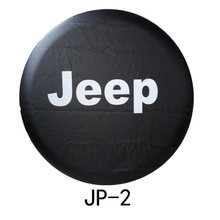 "14 ""15"" 16 ""17"" Inch PVC Reservewiel Wheel Cover Protector Bag Voor Jeep cover band(China)"