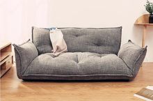 Mode Style plancher canapé-lit 5 positions réglable paresseux canapé Style asiatique meubles salon inclinable canapé pliant canapé