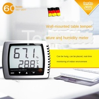 608 Mini Desktop Digital Temperature and Humidity Meter High Precision Household Electronic Temperature and Humidity Meter