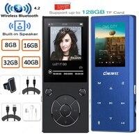 Mp3-плеер с Bluetooth Bulit In Speaker Metal Lossless музыкальный плеер с fm-радио, электронная книга для Walkman поддержка tf-карты до 128 ГБ