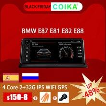Autoradio, système Android 10.0, 2G RAM/32G, écran tactile IPS, navigation GPS, WIFI, Google, BT, musique pour BMW E81 E82 E87 E88 (2005)
